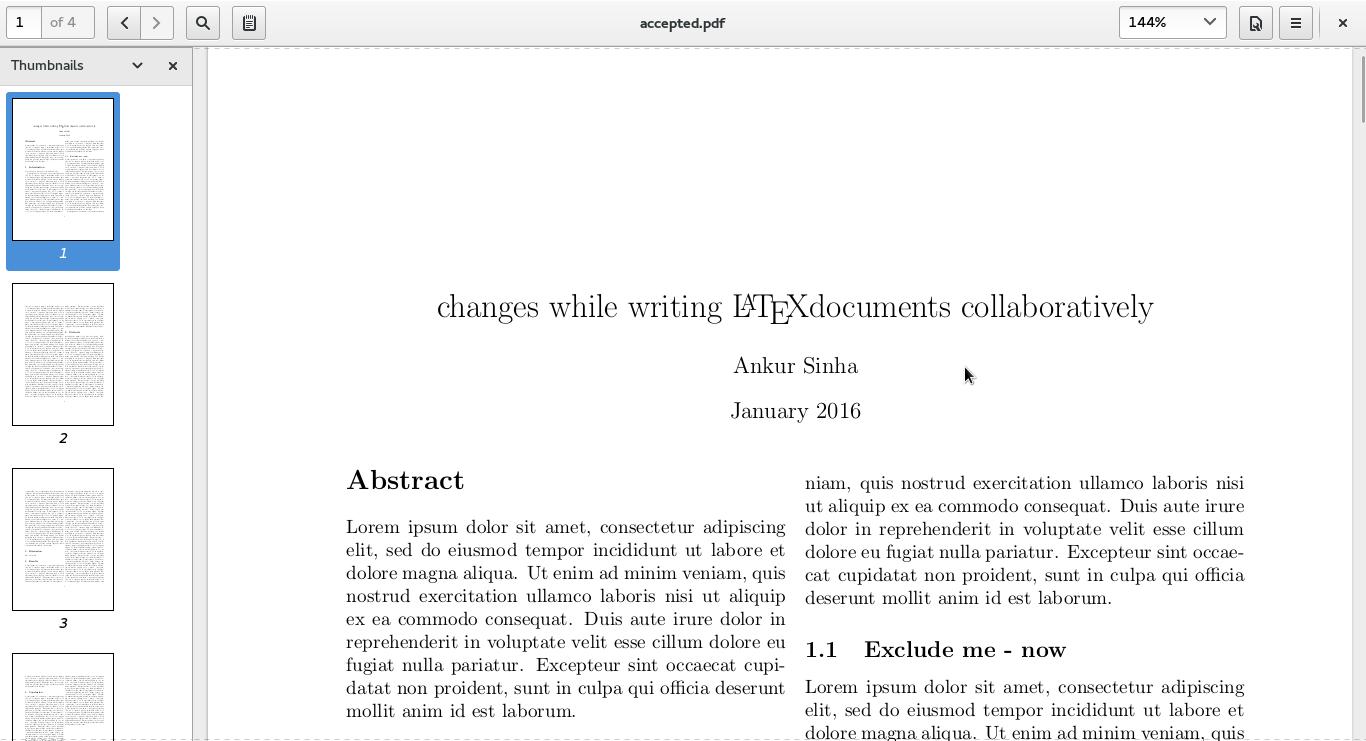 Screenshot of annotated PDF